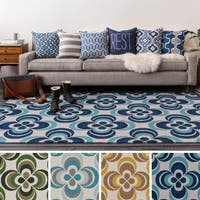 Table-Tufted Viet Polyester Rug - 5' x 7'6""