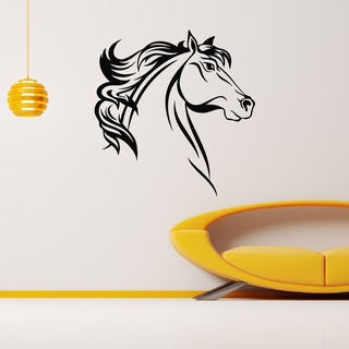 Horse Profile Wall Art Sticker Decal