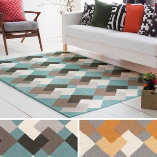 Hand-Tufted Pico Wool Rug (5' x 7'6)