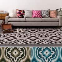 Table-Tufted Tian Polyester Rug (7'6 x 9'6)