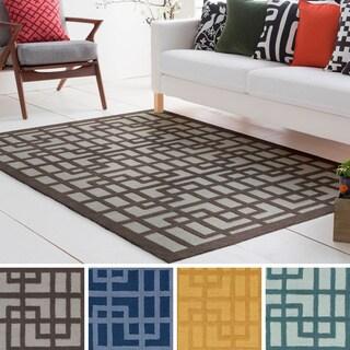 Hand-Tufted Reed Wool/Polyacrylic Rug (7'6 x 9'6) - 7'6 x 9'6
