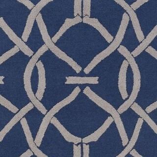 Hand-Tufted Shan Wool/Polyacrylic Rug (8' x 11')