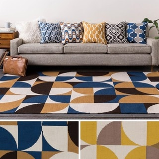 Table-Tufted Vaci Polyester Rug (2' x 3')