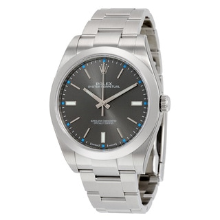Rolex Men's m114300-0001 Oyster Perpetual Grey Watch