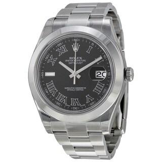 Rolex Men's m116300-0006 Datejust II Grey Watch