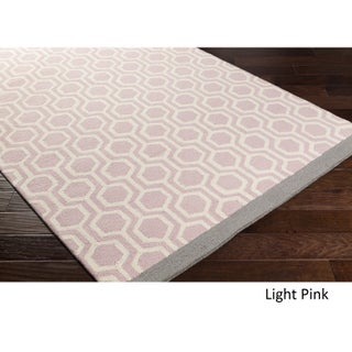 Hand-Tufted Path Wool Rug - 2' x 3'