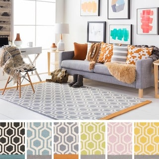 Hand-Tufted Path Wool Rug (2' x 3')