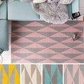 Hand-Tufted Pali Wool Rug (2' x 3')