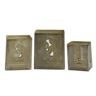 Elements Set 3 Metal Number Lumnaries