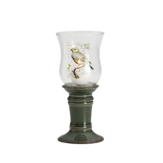 Elements 11-inch Green Bird Hurricane