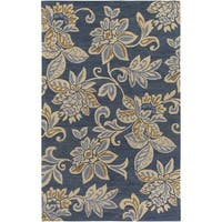 Hand-Tufted Keys Wool Area Rug - 8' x 10'