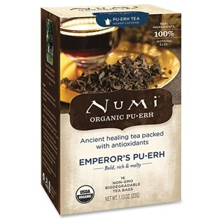 Numi Emperor's Pu-Erh Organic Tea - (16 PerBox)