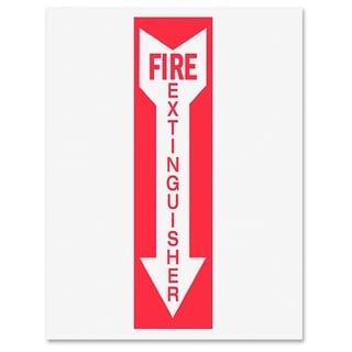 Tarifold Safety Sign Inserts-Fire Extinguisher - (6 PerPack)