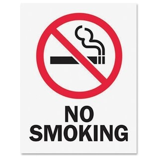 Tarifold Magneto Safety Sign Inserts-No Smoking - (6 PerPack)