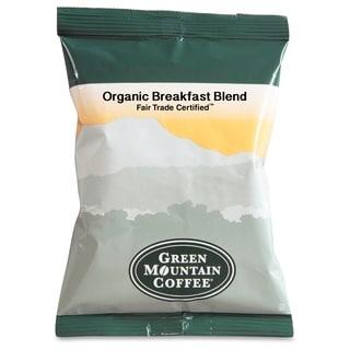 Green Mountain Coffee Fair Trade Organic Breakfast Blend Coffee - (50 PerCarton)