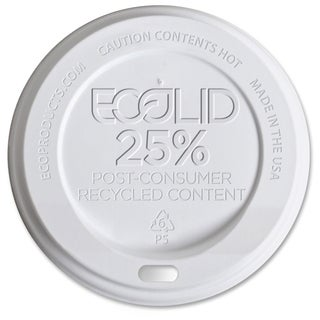 Eco-Products EcoLid Recycled Large Hot Cup Lids - (1000 PerCarton)