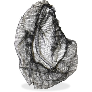 Genuine Joe Black Nylon Hair Net - (100 PerPack)