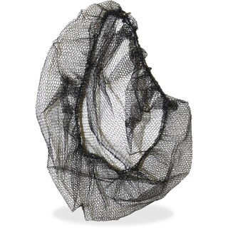 Genuine Joe Black Nylon Hair Net - (100 PerPack)