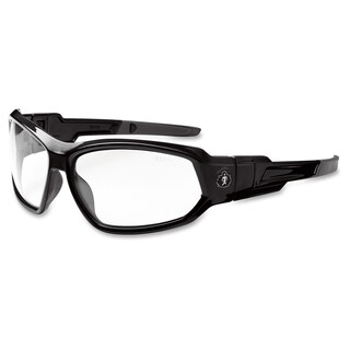 Ergodyne Skullerz Loki Clear Lens Safety Glasses - (1 Each)