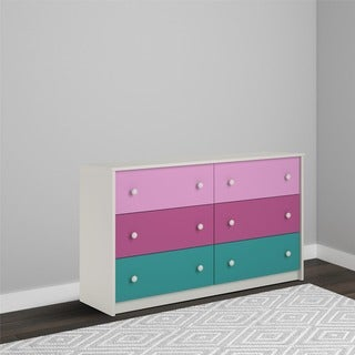 Avenue Greene Gemstone Whimsy 6-drawer Dresser by Cosco