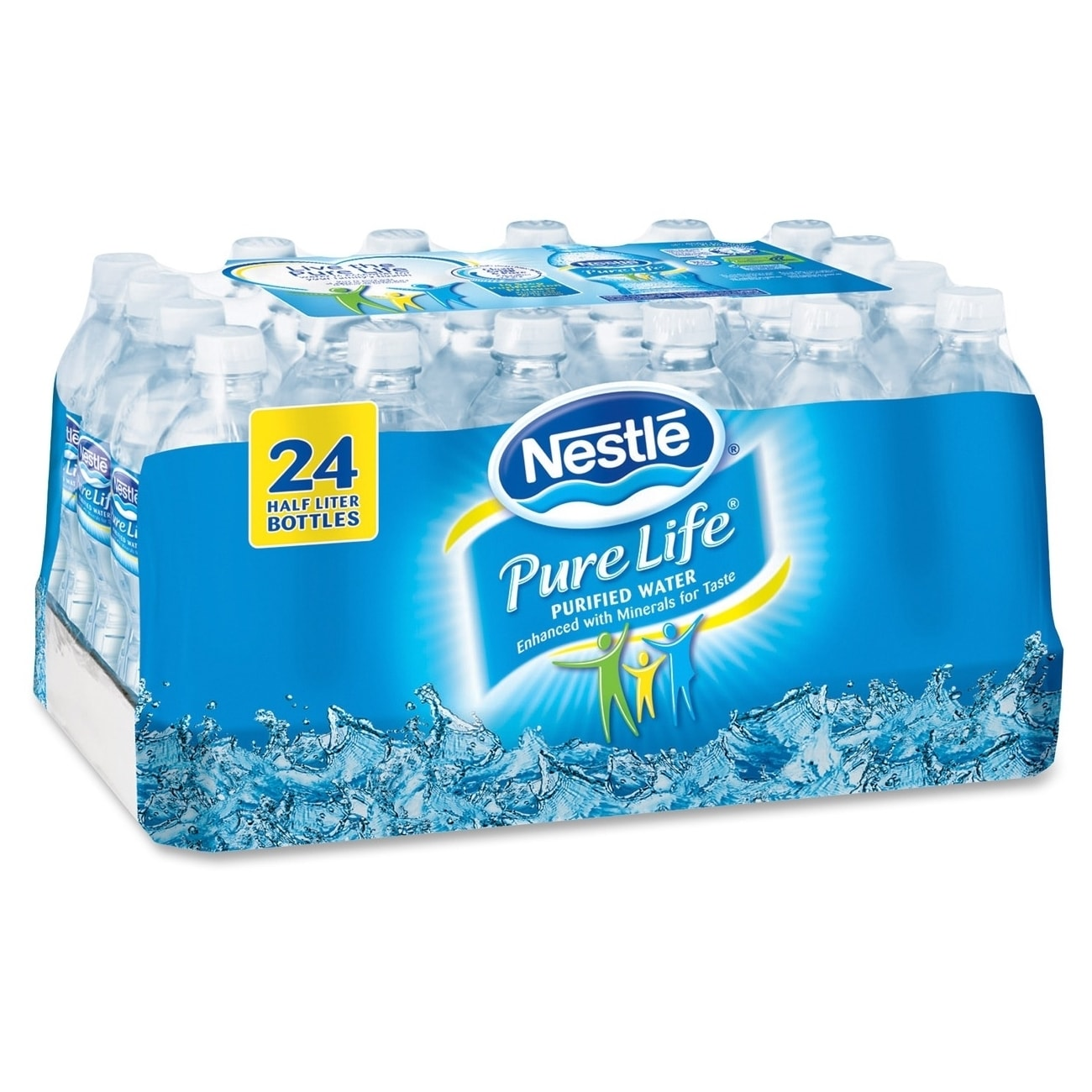 Nestle Pure Life Purified Bottled Water - (24 PerCarton) ...