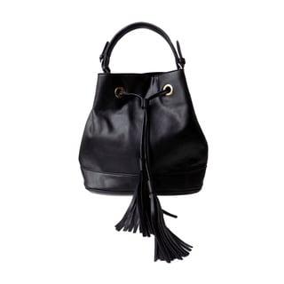 Olivia Miller 'Emma' Drawstring Tassel Bucket Tote Handbag