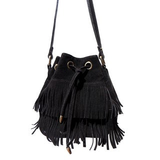 Olivia Miller 'Amelia' Dual Layer Fringe Mini Bucket Handbag|https://ak1.ostkcdn.com/images/products/11188336/P18180218.jpg?_ostk_perf_=percv&impolicy=medium