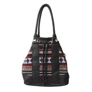 Olivia Miller 'Kenzy' Drawstring Bucket Tote Handbag