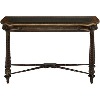 Safavieh Couture High Line Collection Wallace Yellow Poplar Brown Console