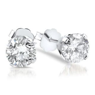 14k White Gold 1 1/2ct TDW Diamond Stud Earrings|https://ak1.ostkcdn.com/images/products/11188387/P18180241.jpg?impolicy=medium
