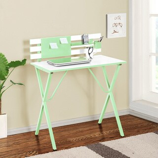 K&B HO2122-G Writing Desk (Option: Yellow)