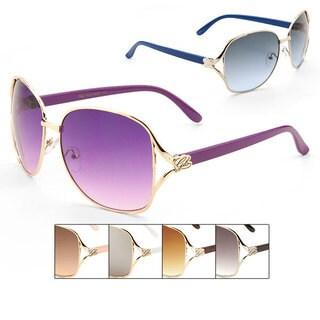 Women's GLO Fashion Metal Sunglasses