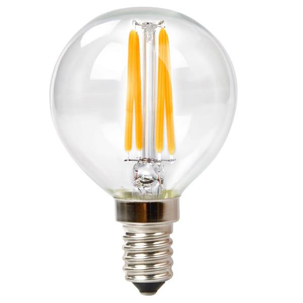 Shop Goodlite G-83411 3.5W Filament LED G16.5 Globe