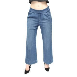 Women's Medium Blue Ankle Culotte Denim Pants|https://ak1.ostkcdn.com/images/products/11188566/P18180416.jpg?impolicy=medium