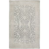 Hand Knotted Forbes Wool Area Rug - 10' x 14'