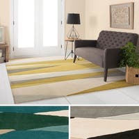 Hand Tufted Harbor Wool Area Rug - 10' x 14'