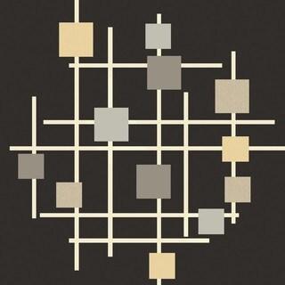 Hand Tufted Hanchett Wool Rug (9'9 Square)