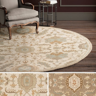 Hand Tufted Fosse Wool Rug (9'9 Round)