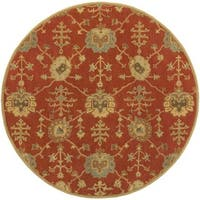 Hand Tufted Foster Wool Area Rug (9'9 Round)