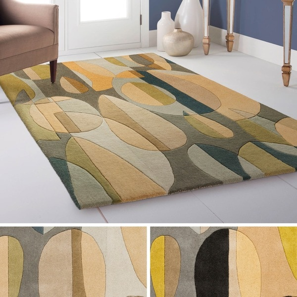 Hand Tufted Hana Wool Area Rug - 12' x 15'