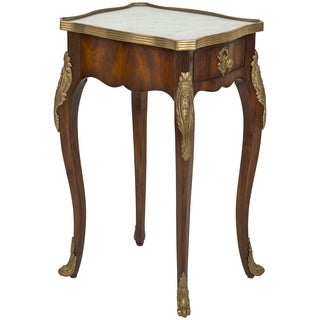 Safavieh Couture Collection Miraval Acacia/ Mahogany Eglomise Storage Accent Table