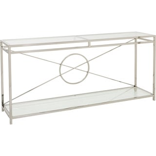 Safavieh Couture Collection Zara Stainless Steel Console