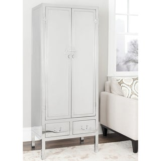 Safavieh Couture Collection Kingsley Stainless Steel Storage Cabinet