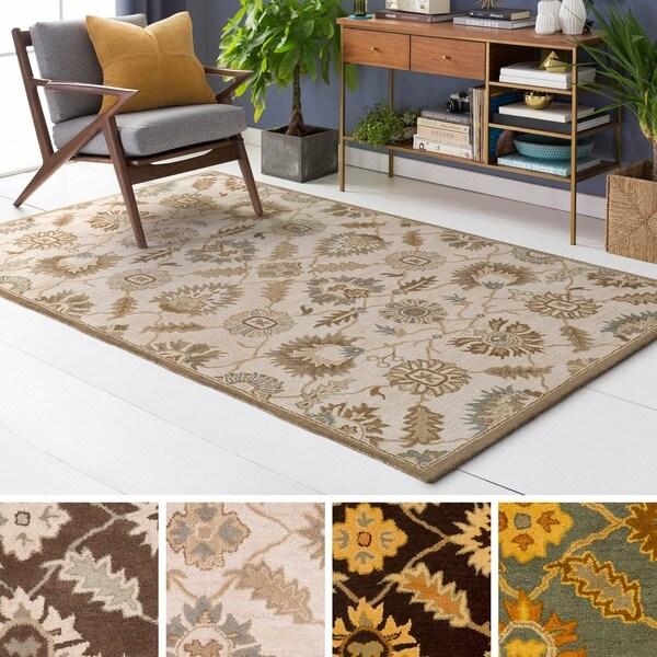Hand-tufted Guoliang Wool Rug (12' x 15')