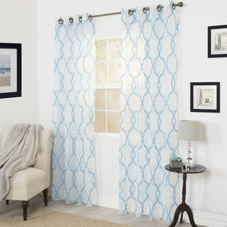 Link to Windsor Home Eleanor Embroidered Curtain Panel - 95 Similar Items in Window Treatments