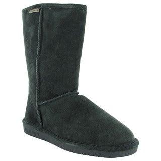 Bearpaw Womens Emma 10-Inch Sheepskin Suede Boots