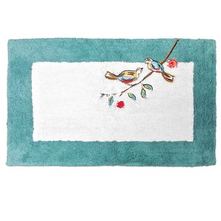 Lenox Chirp Embroidered & Tufted Bath Rug