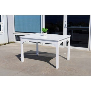 Bradley Eco-friendly 4-foot Outdoor White Wood Garden Bench