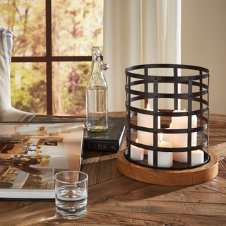 Croscill Cage Hurricane Candleholder