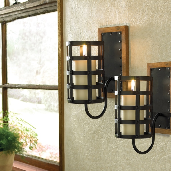 Croscill Cage Wall Sconces & Shop Croscill Cage Wall Sconces - Free Shipping Today - Overstock ...